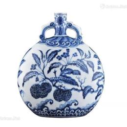青花瓷---经久不衰的历史之美