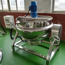 秋梨膏搅拌熬制夹层锅 食品加工机械设备