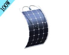 迪晟新能源sunpower半柔性太陽能發電板