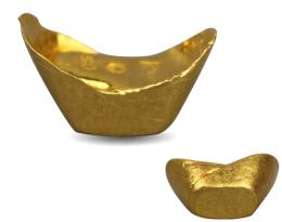 金锭银锭材料珍贵存世稀少市场超过200万