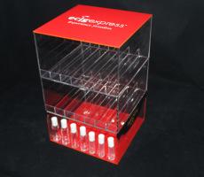 有機玻璃煙油展示架 展示架定制工廠