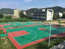 丙烯酸籃球場施工建設-塑膠籃球場專業施工