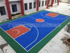 篮球场建设及环保篮球场施工建设厂家价格