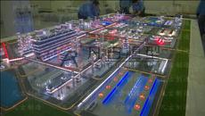 工业动态沙盘制作厂家 工业厂区沙盘