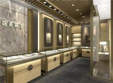 不锈钢玉器翡翠艺术品展示柜瑞晸珠宝展示柜