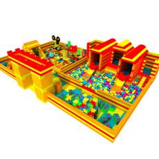 溫州哈皮游樂淘氣堡兒童樂園 大型EPP積木樂