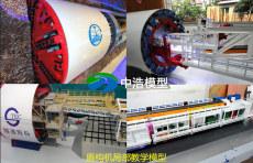 湖南中浩专业制造泥水式盾构机仿真模型模