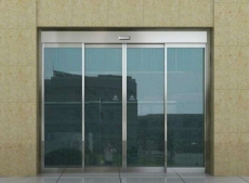 天津河西区专业安装玻璃感应门玻璃隔断