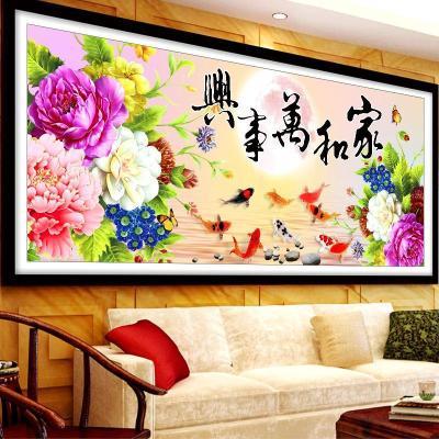 北京骏枫国艺钻石画艺术感极强 装饰好选择
