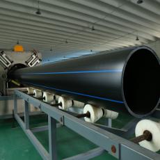 鄂爾多斯PE管材管件圣大管業大口徑PE管管件