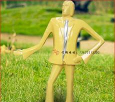 河北康大雕塑不锈钢彩绘人物雕塑