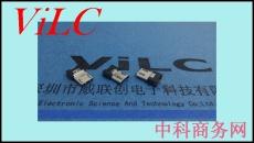 MICRO 5P夹板公头-单地线脚-带弹片 盘装
