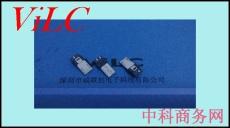 MICRO 5P焊线式公头-前五后三双面接线 钢壳