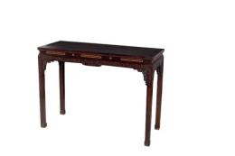 紫檀条桌哪里能收购安全交易