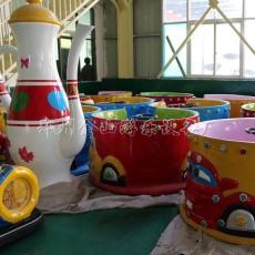 旋转咖啡杯游乐设备旋转杯金山厂家供应