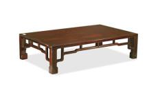 红木长方桌市场行情怎么样