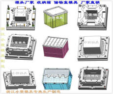 浙江塑胶模具 整理箱塑料模具bwin登录入口