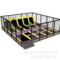跳跳床儿童成人跑酷蹦床温州厂家定做