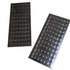 不锈钢水沟盖板 厨房防鼠防滑排水沟盖板