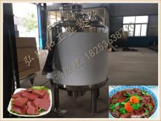 盒装猪血生产线-猪血块生产线-猪血豆腐设备