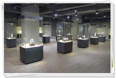 博物馆艺术品字画独立展示柜制作厂家古物