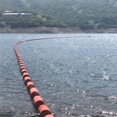 河道垃圾治理方案浮筒式拦污排厂家