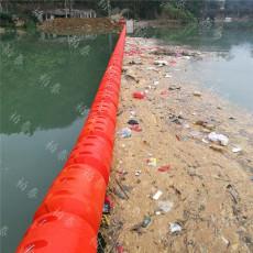 柏泰水上拦污栅浮漂拦污塑料浮筒价格