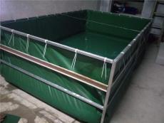儲水池帆布水池圓形魚池免養蝦固定儲水池防