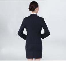 株洲职业装定制女士西服两件套商务休闲正装