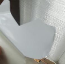 白色保护膜白色单面胶白色麦拉单面胶