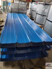生产和加工不同颜色与厚度的彩钢板及折件