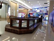 湖南商場魚池設計 錦鯉魚池 玻璃吃奶魚池