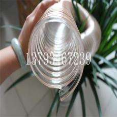 pu聚氨酯钢丝风管通风除尘波纹塑料软管