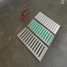 不锈钢水沟盖板 厨房防鼠防滑排水沟盖板板