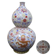 洛克菲勒国际拍卖瓷器赏析-粉彩葫芦瓶