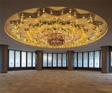 北京非標定制酒店大型手工玻璃