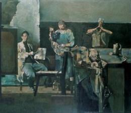 俞晓夫油画的拍卖相关流程
