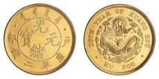 光绪元宝金币图片及价格评估