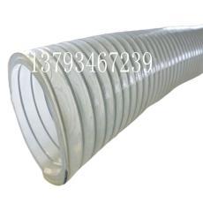 pu聚氨酯304不锈钢丝食品级平滑塑料软管