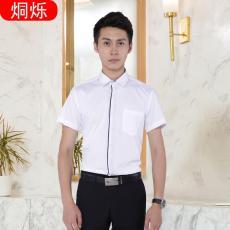 湘潭職業裝定制職業襯衫夏季短袖薄款男式休