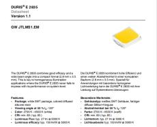 OSRAM 2835 0.2W 0.5W 1W