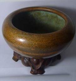 钵式大铜香炉为什么能交易出高价