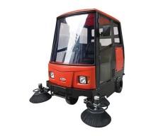 耐洁思X5全封闭驾驶式扫地机吸尘扫地车仓库