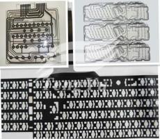 厂家直供键盘导电碳浆8085无卤快干导电碳浆