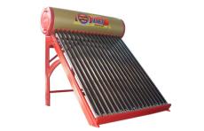 廠家供應16管家用分體式真空管太陽能熱水器