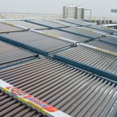 厂家直销真空管式太阳能热水工程模块