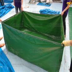 锦鲤养殖池 折叠篷布鱼池 帆布鱼池加工定制