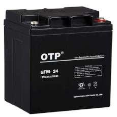 OTP欧托匹蓄电池6FM-24 UPS专用电池