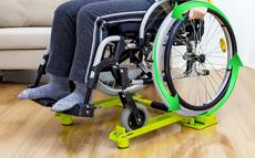 佰多轮轮椅骑行台家用折叠小型室内健身房