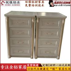 热销量全铝床头柜衣柜全屋定制全铝衣柜书柜